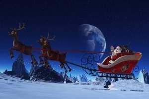 100 Herzenswünsche - Weihnachtsmann beschenkt Kinder im Vogtland