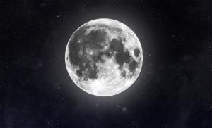 Warum hat der Mond manchmal farbige Ringe?