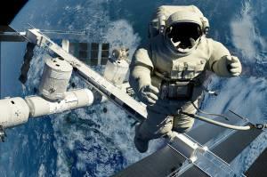 Wie gehen Astronauten eigentlich aufs Klo